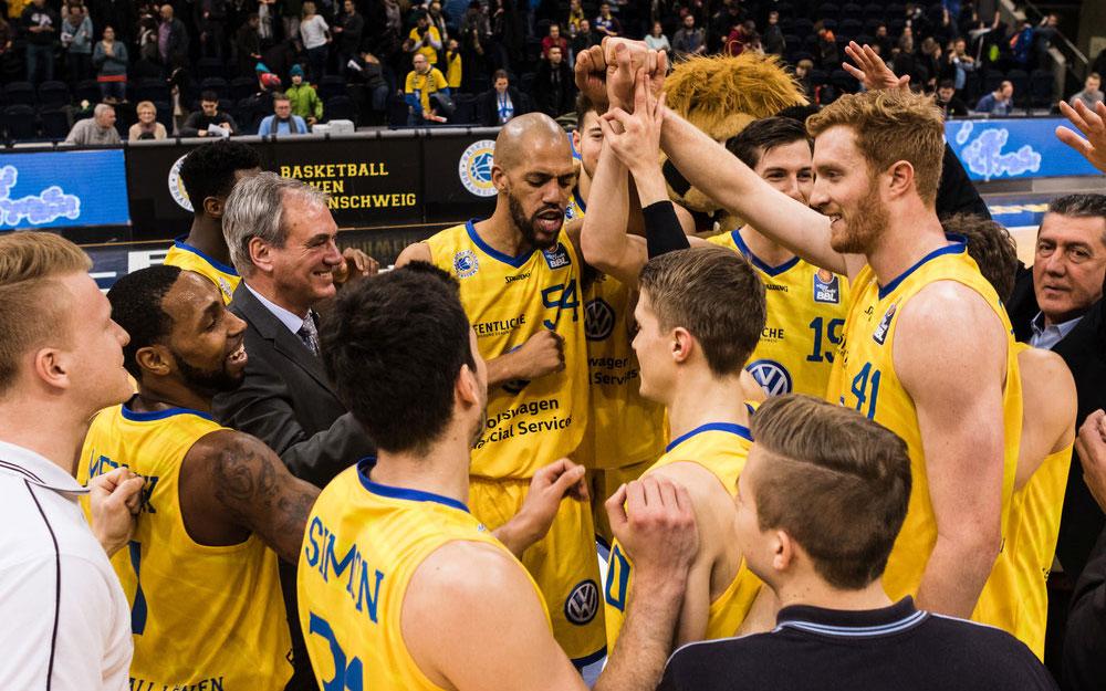 BASKETBALL LÖWEN Braunschweig | LITHOSCAN crossmedia