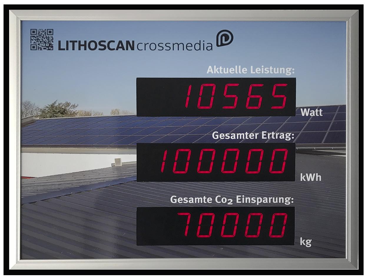 100.000 kWh Sonnenstrom | LITHOSCAN crossmedia