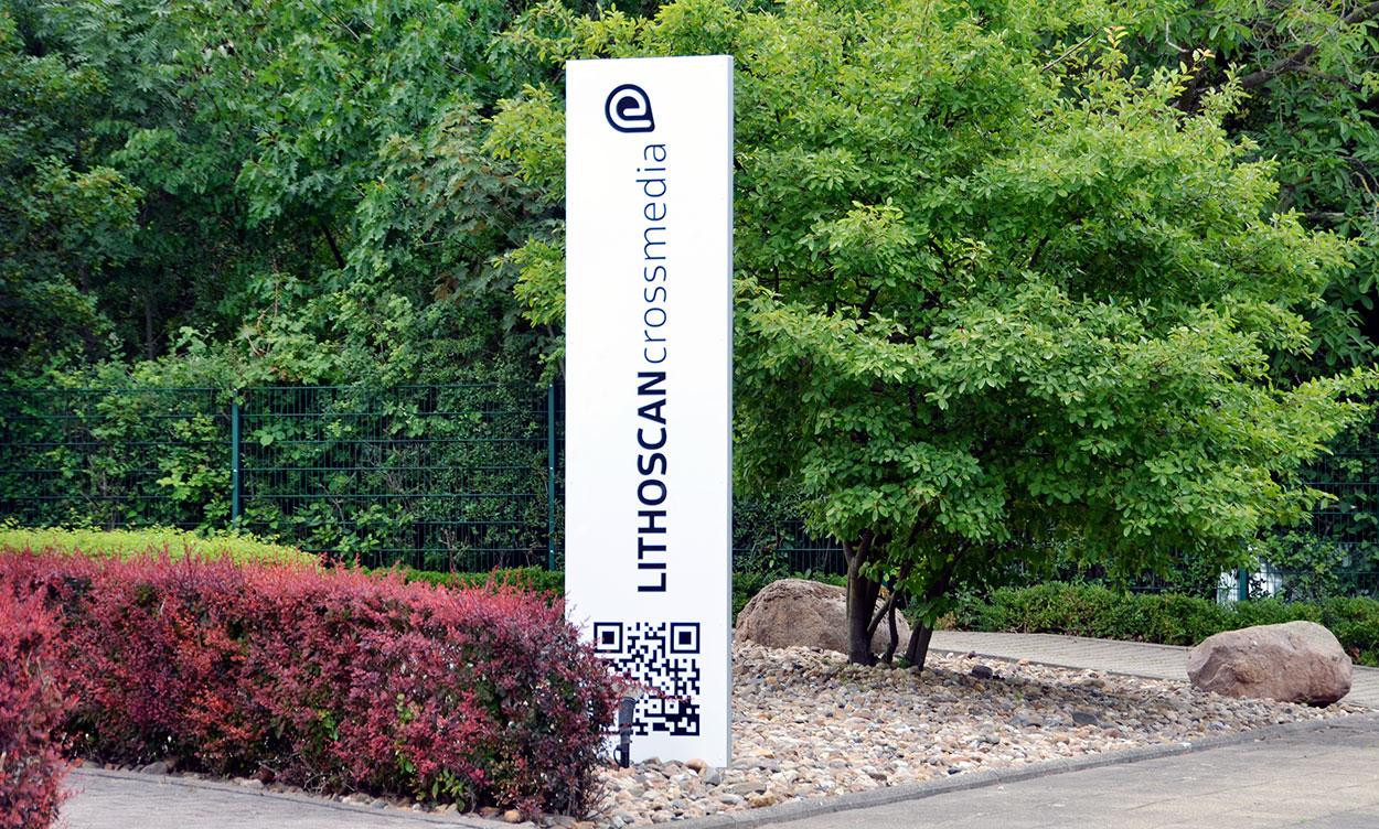 LITHOSCANcrossmedia | Hauptsitz mit Zentrale, Vertrieb und IT