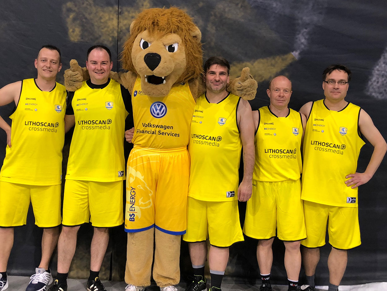 LITHOSCANcrossmedia | Basketball Löwen Business Cup 2018