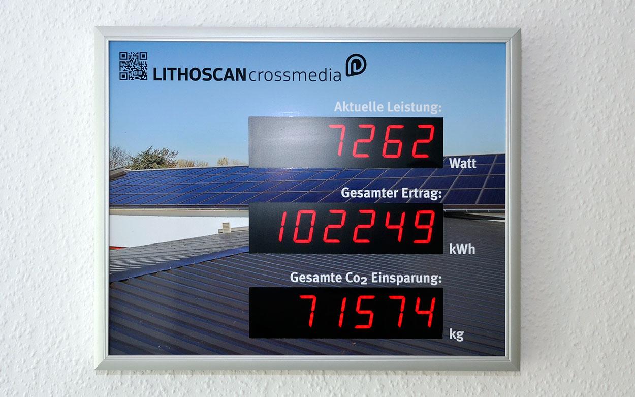 LITHOSCAN crossmedia | Nachhaltigkeit